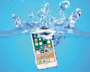 iPhone 6s in acqua